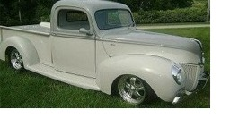 Mike's 1940 Ford Truck auto detailing Charlotte NC image