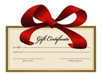 Gift Certificate ***Enter desired Amount***